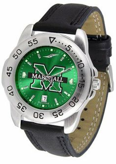 Marshall University The Herd Sport Leather Band Anochrome - Men's - Men's College Watches by Sports Memorabilia. $50.76. Makes a Great Gift!. Marshall University The Herd Sport Leather Band Anochrome - Men's