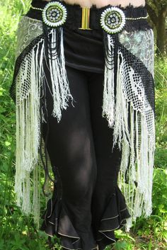 Tribal Fusion Faux Skirt Layered Belt  Custom made by TriBalDiVinE, €90.00