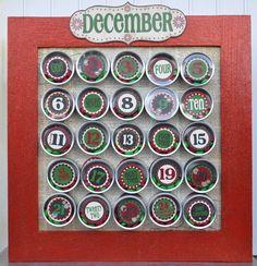 DYI Christmas Countdowns