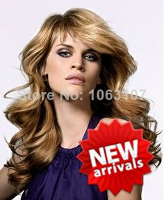 Fashionable Celebrity Hairstyle Long  Wig about 20 Inches 100% Human Hair (Free Shipping) $165.00