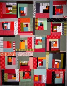 nifty quilts: October 2010 http://www.flickr.com/photos/melody-johnson-quilts/5957205169/in/photostream/