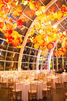 28 stunning wedding venues in around seattle tying the knot chihuly glass and garden wedding seattle wedding venue new creations wedding design and coordination junglespirit Image collections