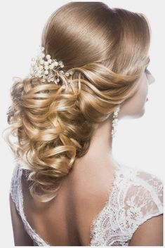 Beautiful Wedding Hairstyle Collections. Still Exploring For The Gorgeous Look Of Your Hair For Your Wedding Event? Get Impressed By This Fantastic Styles That Should Leave All Young Woman Tressed To Impress !