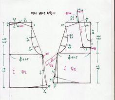 여자 배자 만들기 바느질 순서 - 여자생활한복만들기 - 맨드리생활한복