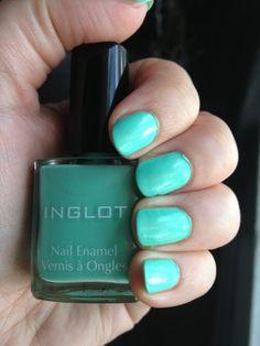 Inglot Nail Polish 390 (mint)