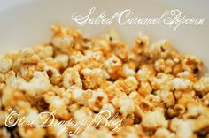 The Olive Dragonfly: Salted Caramel Popcorn recipe