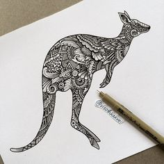 Finished the Kangaroo of comment down iconic thing or animal of your country
