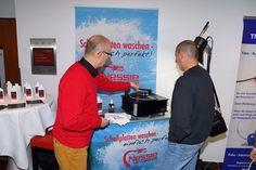 Auch auf der klangBilder zu sehen: die Platten-Waschmaschine Baseball Cards, Sports, Washing Machine, Archive, Pictures, Hs Sports, Sport