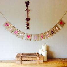 A personal favourite from my Etsy shop https://www.etsy.com/uk/listing/293370807/prom-night-bunting-banner-vintage