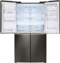 Refrigerators are house, to be specific, kitchen equipment that serves many purposes especially in keeping food safe and cool for long. There are tips to consider when purchasing these fridges. Adjustable Shelving, Open Shelving, Smart Storage, Locker Storage, Four Door Refrigerator, Hidden Hinges, Tempered Glass Shelves, Water Dispenser, Side Door