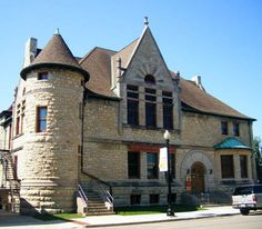 DuPage County Historical Museum in Wheaton, Illinois.  This was the public library when I was growing up.