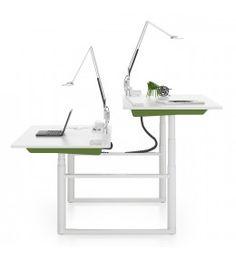 Tyde Sit-Stand Ajustable Bench Desk