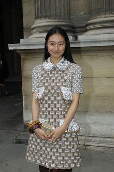 Shiori Kutsuna at the Louis Vuitton Spring/Summer 2013 Fashion Show © Louis Vuitton / Mazen Saggar - Bertrand Rindoff Petroff
