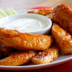 Smart Balance Recipe - Lighter Buffalo Chicken Strips this is deliciouss Turkey Recipes, Paleo Recipes, Low Carb Recipes, Crockpot Recipes, Cooking Recipes, Skinny Recipes, Yummy Recipes, Buffalo Chicken Strips, Good Food