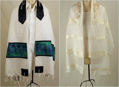10 Meaningful Bar & Bat Mitzvah Gift Ideas - Tallit & Tallis Sets by The Tallis Lady - www.mazelmoments.com/blog/22961/bar-bat-mitzvah-gifts-gift-ideas-thoughtful-meaningful-creative/