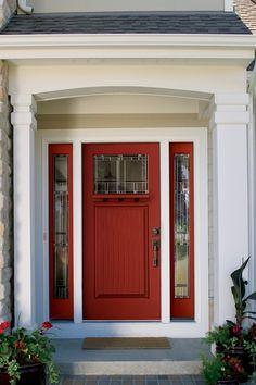 f12e99ded39 Thermatru Canvas Fiberglass door style  CCV911 with Sidelite  CCA3403SL  Glass  Savannah Patio Doors