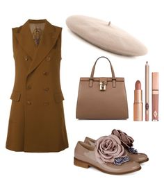 """fifty shades of brown"" by viennaelgiva on Polyvore featuring Pokemaoke, Jean-Paul Gaultier, Gucci, Dolce&Gabbana and Dolce Vita"