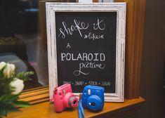 Great wedding idea, Polaroid cameras for your guests Polaroid Cameras, Destination Wedding Photographer, Great Photos, Wedding Planning, Wedding Decorations, Decor Ideas, Polaroid Camera, Wedding Decor