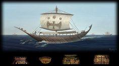Aegean Minoan Ships sailing on the High Seas