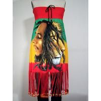 Bob Marley Beaded Fringe Dress & Canvas Tote Set