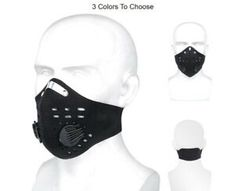 Pro Cycling Mask With Filter Protective Cycling Mask Activated C Cycling Mask, Pro Cycling, Cycling Bikes, Biker Mask, Special Needs, Toronto, Filters, City, City Drawing