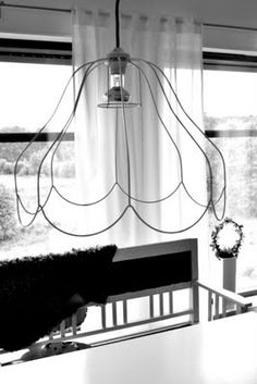 old lampshade frame #upcycle