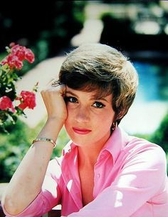JULIE ANDREWS, a wonderful actress and a beautiful woman (human being!).                                                                                                                                                                                 More
