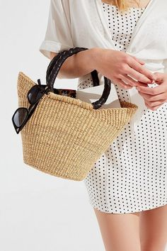 Urban Renewal Remade Small Straw Bag  a07611483c083