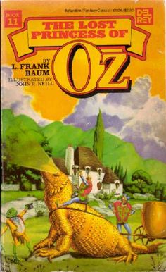 Publication: The Lost Princess of Oz  Authors: L. Frank Baum Year: 1984-06-12 ISBN: 0-345-32026-3 [978-0-345-32026-1] Publisher: Del Rey / Ballantine  Cover: Michael Herring