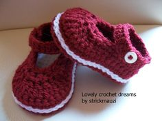 Baby Booties 'Spring Time'
