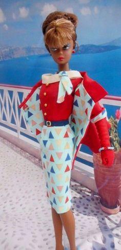 "OOAK Silkstone Vintage Barbie Handmade 12"" Fashion Royalty Poppy Parker  /Mary   #Unbranded"