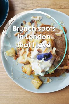 I am a brunch fiend. When you ask what plans I have for the weekend I will inevitably just give you names of cafes. I have so many to recommend that I was London Attractions, London Restaurants, London House, London Life, Food To Go, Good Food, London Summer, Brunch Spots, London Places