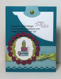 Debra Burgin Birthday Pocket Card