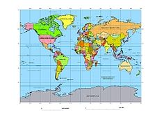 15 best Map projections and world maps images on Pinterest ...