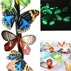 Купить товарСимпатичные 20 шт. 10 см 3D искусственные бабочки световой магнит на холодильник декор для дома событие ну вечеринку поставки рождество свадебный украшения в категории События и праздничные атрибутына AliExpress.      Милые 20 шт. 10 см 3D искусственных бабочек Световой Магнит на холодильник Декор для дома Рождество Свадебные украш