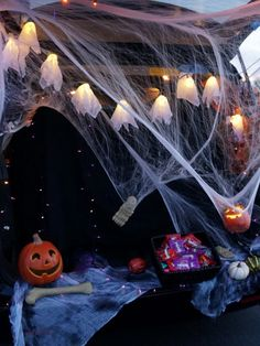 fun halloween party idea trunk or treat decorate your trunks and let the
