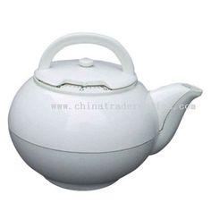 white teapot kitchen timer