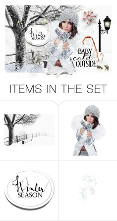 """""""Let it snow"""" by couturerouge ❤ liked on Polyvore featuring art"""