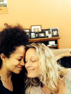 """Sherri Saum And Terri Polo Are Even More Adorable Off Set Of """"The Fosters"""