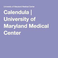 Calendula | University of Maryland Medical Center