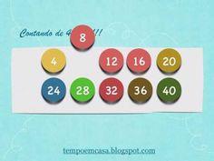 Ajudando seu filho a memorizar multiplicação desde cedo!! ~ Tempo em Casa, ensinando!