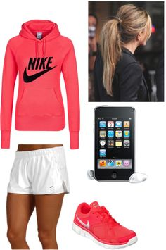 """Nike Running Gear"" by bettierocka on Polyvore"