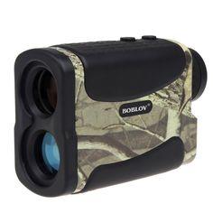 BOBLOV AF700L 600M Waterproof Handheld 6x Golf Laser Range Finder Speed Measure Scope Golf Scope Fr Outdoor Hunting+Battery Kits