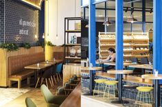 The Lazy Cat Café is a relaxing place for informal gatherings, which has been composed of a theme of cats. The interior design fits the title of the café, but also brings a youthful, quirky and playful vibe to it.