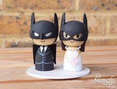 Garotas NerdsCasamento nerd: noivinhos para bolo de casamento - Garotas Nerds