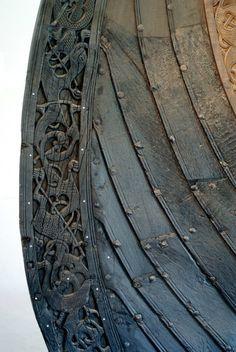 Norse Ship Prow, Beautiful detail