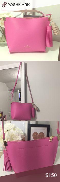 f094dc570891 Kate Spade Pink Tassel Purse- Style Name-Pepper NWT Kate Spade Purse! Style