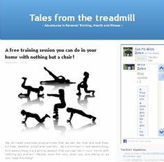 my blog!! tales from the treadmill - check it out http://zahrashahweightlosscoach.wordpress.com/2012/10/10/ramblings-of-a-tired-pt/