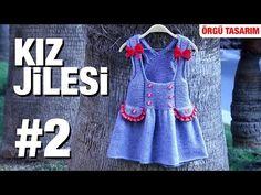 Örgüden Kız Jilesi Detaylı Anlatım   1. Model (2/4) - YouTube