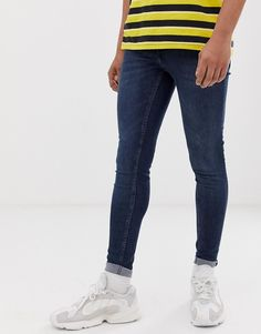 CHEAP MONDAY SONIC SLIM FIT JEANS IN HEX BLUE - BLUE. #cheapmonday #cloth Scandi Style, Cheap Monday, Blue Jeans, Skinny Jeans, Slim, Mens Fashion, Fitness, Pants, Clothes